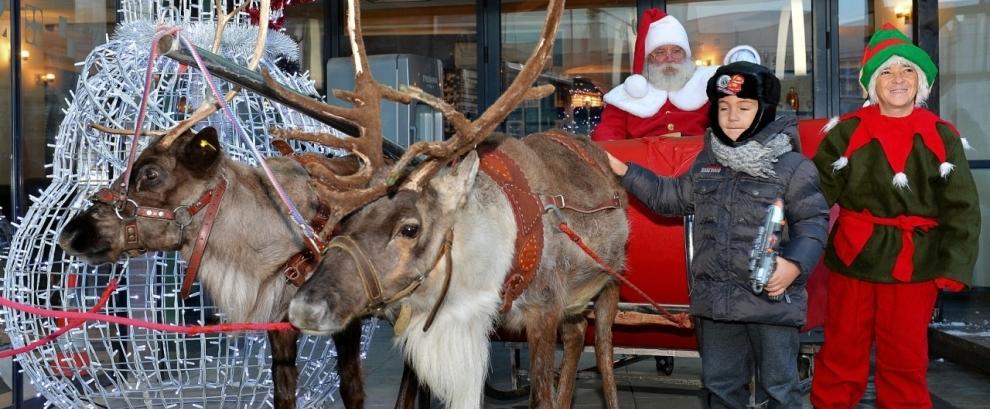 Mos Craciun si Rudolf au revenit